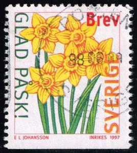 Sweden #2224 Daffodils; Used (0.55)