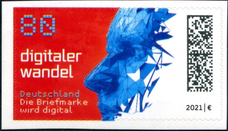 2021 Germany Digital Change SA (Scott NA) MNH