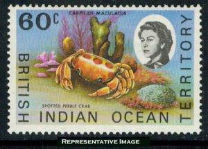 British Indian Ocean Territory Scott 25 Mint never hinged.