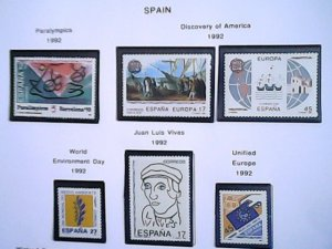 1992  Spain  MNH  full page auction