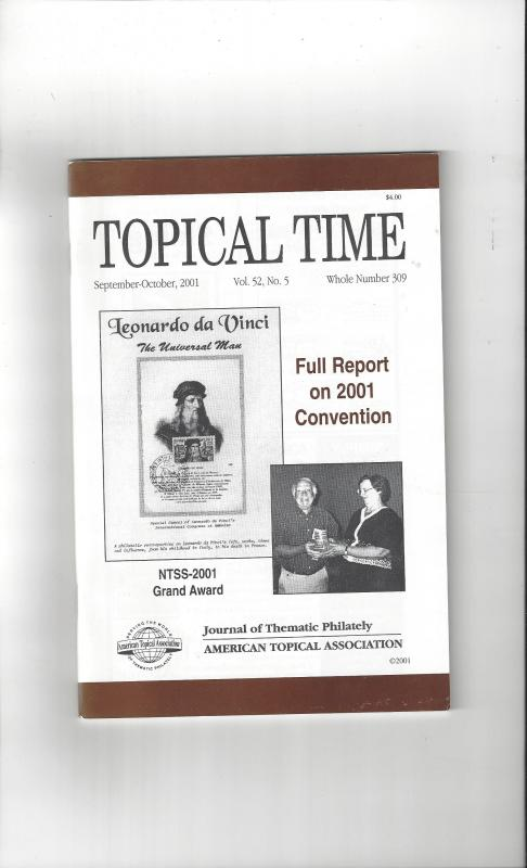 Topical Time Magazine SEP-OCT 2001  Number 309, ATA Journal