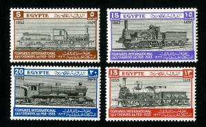 Egypt Stamps # 168-71 VF OG H Catalog Value $77.00