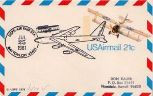 United States, Event, Aviation, Fancy Cancels, Ohio