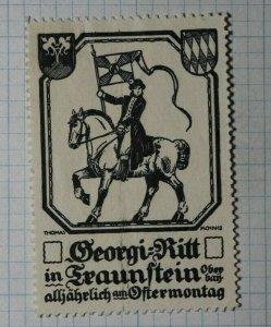 Georgi Ritt in 5th Evey Year On Monday Jockey Exposition Poster Stamp Ads