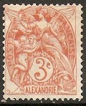 1902 Alexandria Scott 18 liberty, equality, fraternity  MH