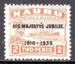 Nauru - Scott #32 - MH - Gum toning - SCV $2.50