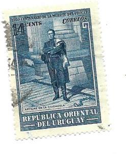 Uruguay 1952 - U - Scott #594