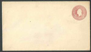 Ca 1916 COVER U429 TYPE? UNLISTED PINK MINT ENTIRE