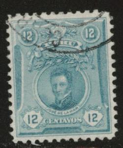 Peru  Scott 182 used stamp