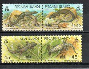 Pitcairn #396a-398a MNH