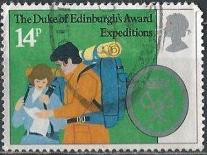 Great Britain 952 (used) 14p Duke of Edinburgh's Award (1981)