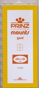 Prinz Stamp Mount 96/265 Clear Background Pack of 5
