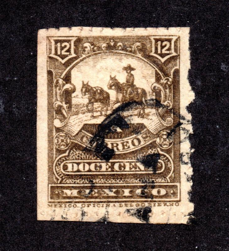 Mexico - Sc# 273b Used / wmk 154   -  Lot 1117062