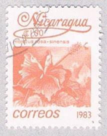 Nicaragua Flower pink 10 (AP117021)