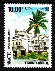 Mayotte MNH Scott #143 10fr New Hospital