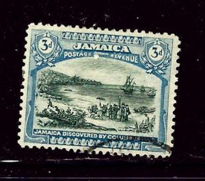 Jamaica 93 Used 1922 issue