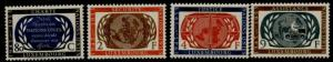 Luxembourg 306-9 MNH United Nations, Children, Justice, Map