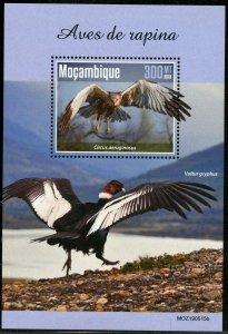 MOZAMBIQUE 2019  BIRDS OF PREY  SOUVENIR SHEET MINT NEVER HINGED