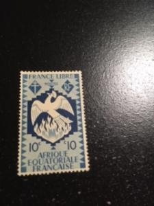 French Equatorial Africa sc 143 MH