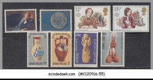 SELECTED STAMPS OF EUROPA DIFFERENT COUNTRIES - 8V - MINT NH