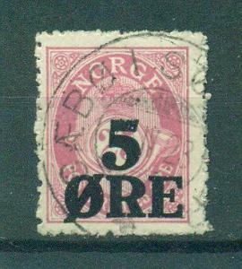 Norway sc# 99 (1) used cat value $1.50