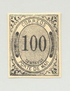 Porte De Mar #JX19 1v Imperf HINGED