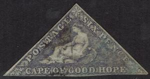CAPE OF GOOD HOPE 1855 TRIANGLE 6D USED