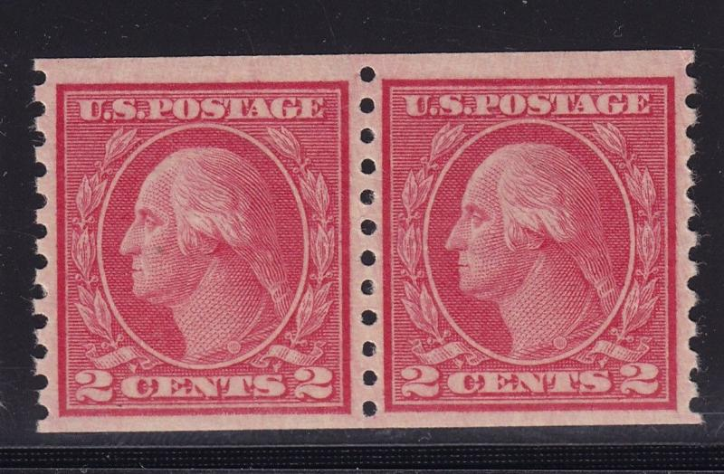 492 pair VF-XF original gum never hinged with nice color cv $ 50 ! see pic !