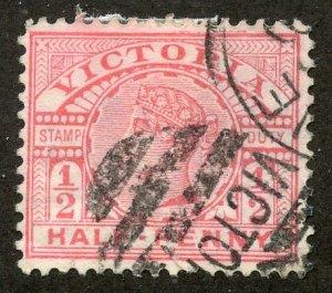Victoria, Scott #160, Used