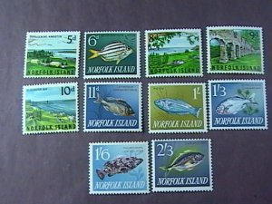 NORFOLK ISLAND # 49-60-MINT NEVER/HINGED--COMPLETE SET----QEII----1962-64(#2)