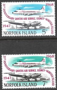 [9257]   Norfolk Island # 119 - 20 Mint Never Hinged
