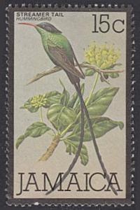 Jamaica # 475 used ~ 15¢ Hummingbird