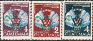 Guatemala #C204-C206 Used Set