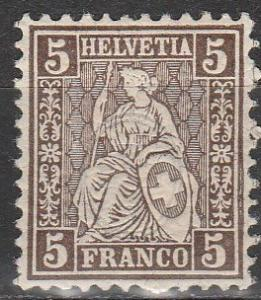 Switzerland #61 F-VF Unused  (S5520)
