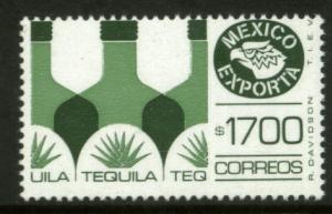 MEXICO Exporta 1596 $1700P Tequila Fluo Paper 10 MNH