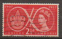 Great Britain SG 557 Used