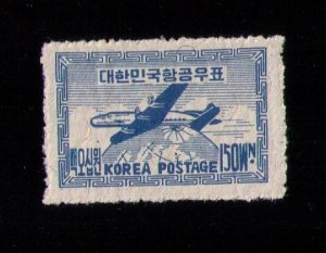 KOREA Sc #C2 MH F-VF (1949):(SOUTH kOREA):