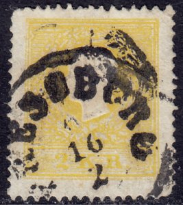 Austria - 1858 - Scott #6 - used - Franz Josef