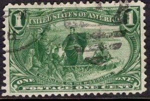 Us Stamp Scott #285 USED SCV $7.00