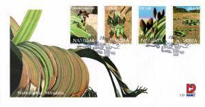 Namibia - 2000 Welwitschia FDC SG 868-871