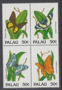 Palau 300 Butterflies MNH VF