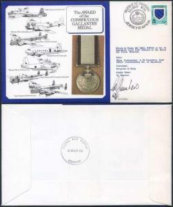 DM9b Award of the Conspicuous Gallantry Medal Signed by Chambers (F)