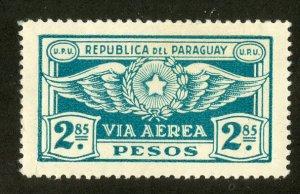 PARAGUAY C8 MH BIN $.50