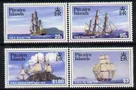 Pitcairn Islands 1998 Ships perf set of 4 unmounted mint ...