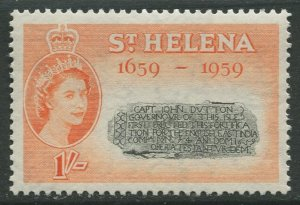 STAMP STATION PERTH St Helena #158 Arms of East India Company 1959 MNH