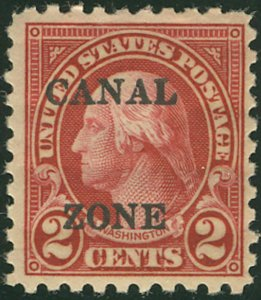 MALACK Canal Zone no. 97 F/VF OG Hr., good color ww2105