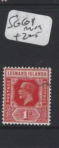 LEEWARD ISLANDS (P2305B)  KGV  1 D  SG  61       MOG