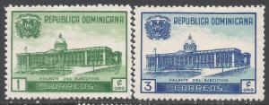 DOMINICAN REPUBLIC 428-29 MOG Z4587