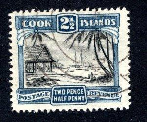 Cook Islands, Scott 94, VF, Used,  CV $2.50   ....... 1500057