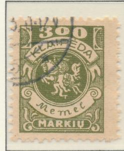 Memel Stamp Scott #N24, Used - Free U.S. Shipping, Free Worldwide Shipping Ov...